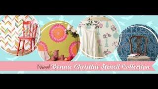 Bonnie Christine Designer Stencils - Royal Design Studio Thumbnail