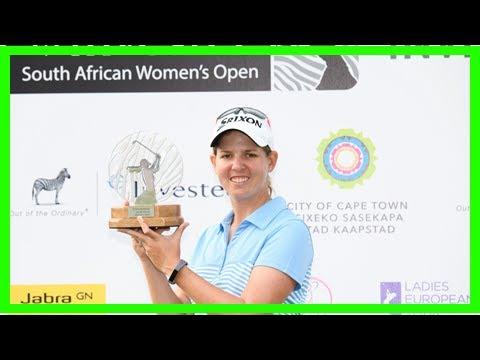 Golf - History-Making Buhai Bags SA Women's Open Title