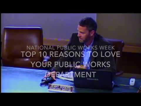 Top 10 Reasons to Love Your Public Works Department