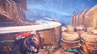Mass Effect Andromeda Get to Kett Base Investigate the Kett Base on Voeld