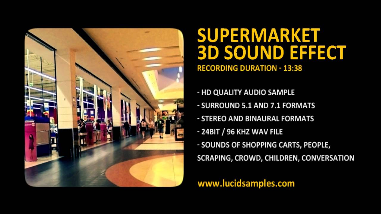 Mall effects download free shopping sound