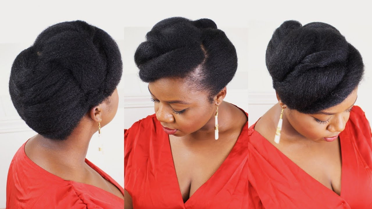 Quick Easy Natural Hairstyles For Black Women Natural Hairstyles Protective Styles Youtube