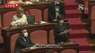 Vaccinazioni Covid, Il ministro Speranza in Senato: