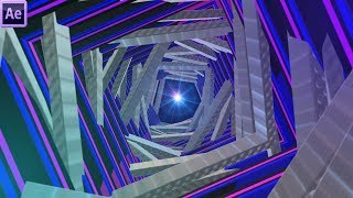 Tunnel Vj Loop After Effects Tutorial