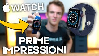 AVEVANO PERSO L'APPLE WATCH SERIES 6 - Unboxing & Prime Impressioni