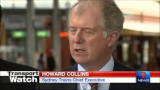 Seven News Sydney - New train timetable publicly released (17/9/2013)
