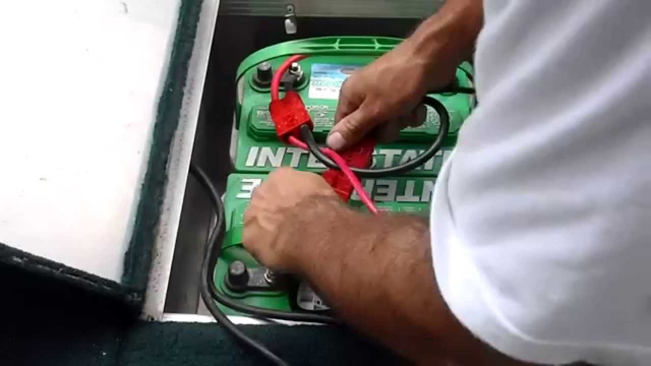 24 Volt Marine Battery >> Connect Ease Connecting 24 V Marine Batteries