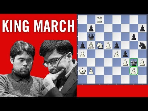 King march  Anand vs Nakamura Rapid Game  Grand Chess Tour 2018 Paris