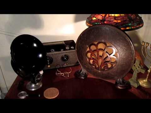 Utah Sings - 1925 Utah Model 30 Radio Speaker - Wildwood Castle