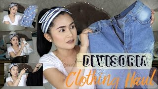 DIVISORIA Clothing Haul + Try-On   Anna Cay ♥