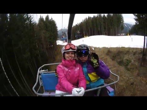 Snowboarding in Bukovel Ukraine