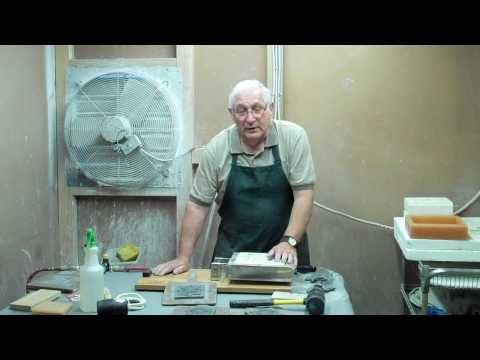 Texas Tiler Air Release Ceramic Tile Press Video 2