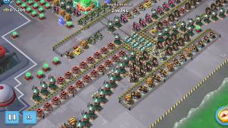 BoomBeach - Redline 3 turn attack