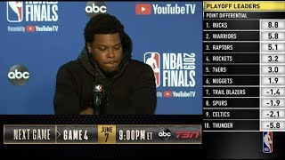 Kyle Lowry Press Conference | NBA Finals Game 3