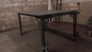 4' X 6' Welding Table Build (part 4)