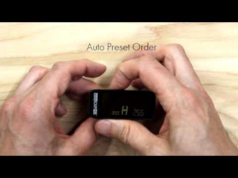 StroboClip HD - Advanced Preferences Menu