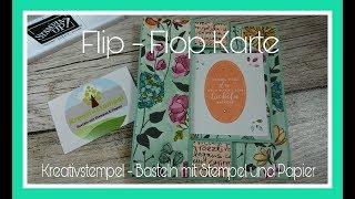 Gambar cover Flip Flop Karte basteln / Swing Card Bastelanleitung Tutorial
