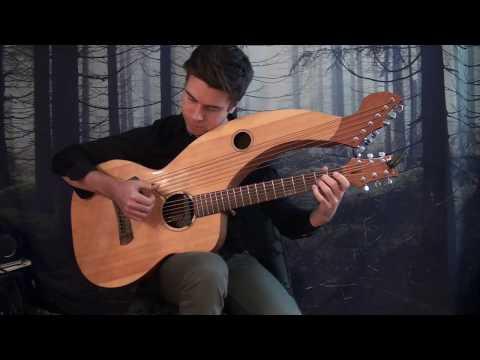 Samba Pa Ti (Santana) - Harp Guitar Cover - Jamie Dupuis