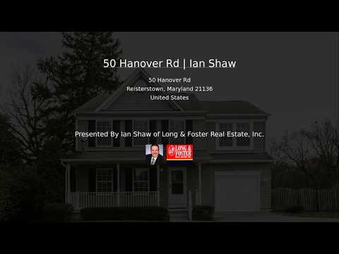 50 Hanover Rd   Ian Shaw