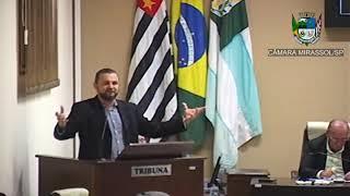 16ª Sessão Ordinária - Vereador Daniel Sotto
