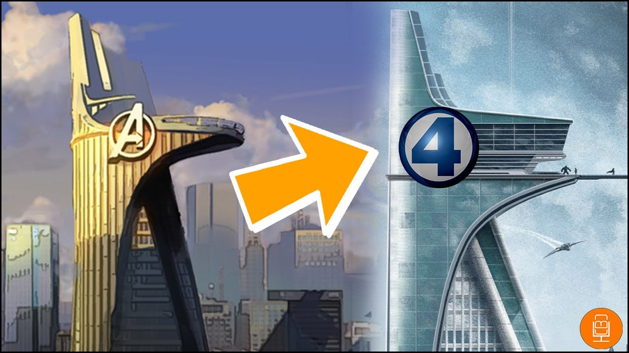 fantastic four taking over avengers tower theory youtube