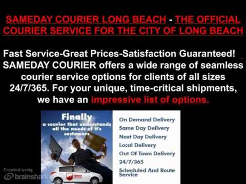 SAMEDAY COURIER LONG BEACH CALIFORNIA