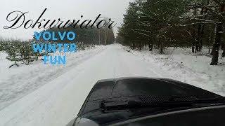 Winter Drift Volvo 940 made by Sweden-Jazda z Dokurviatorem