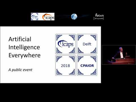 """ICAPS 2018: Inald Lagendijk on """"Artificial Intelligence Everywhere"""""""