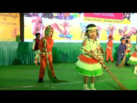 Harshad Varma G Dance Program at Smart Kids School