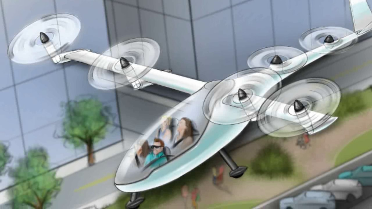 Uber Expects Its Flying Car VTOL Aircraft In 10 Years Elevate Is On Demand Aviation Service