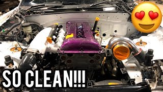 SR20 ROADSTER ENGINE BAY LOOKING CRAZY! thumbnail