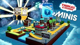 Thomas and Friends Minis #44 Tic-Toc Town with ROBOT TOBY! ★ iOS / Android app (By Budge)