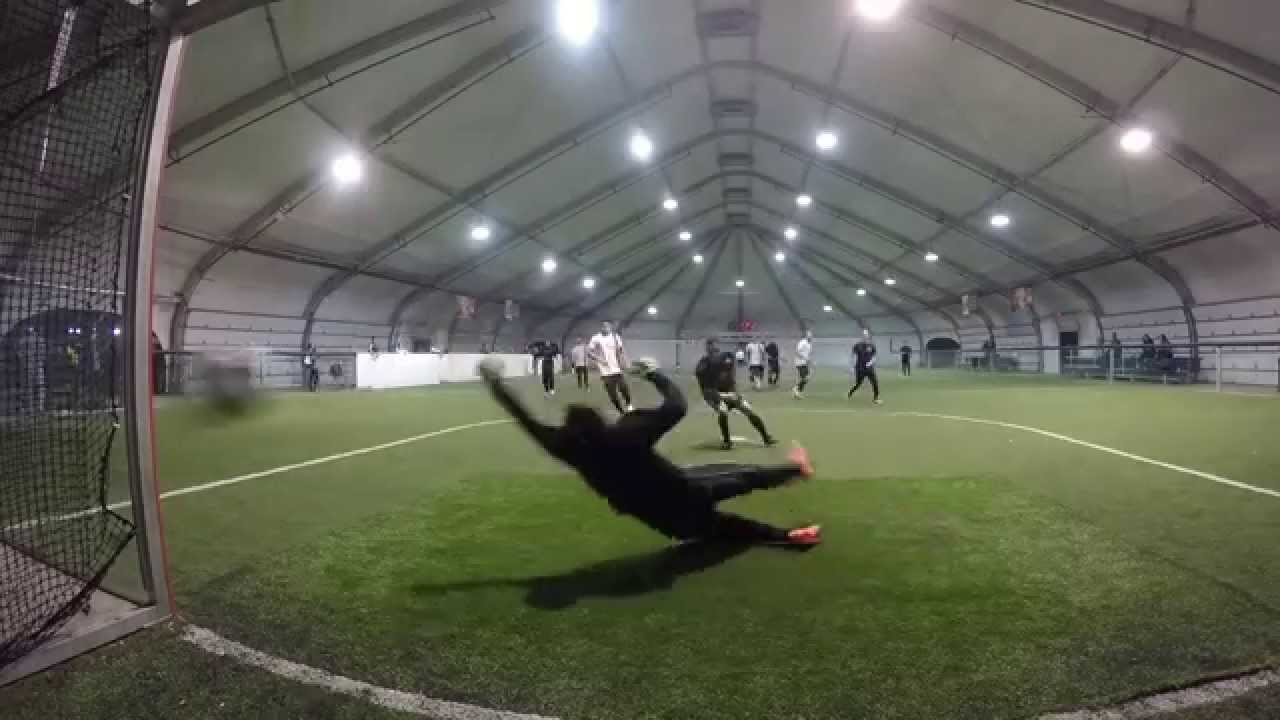 Big League Dreams Indoor Soccer GoPro Goalkeeper