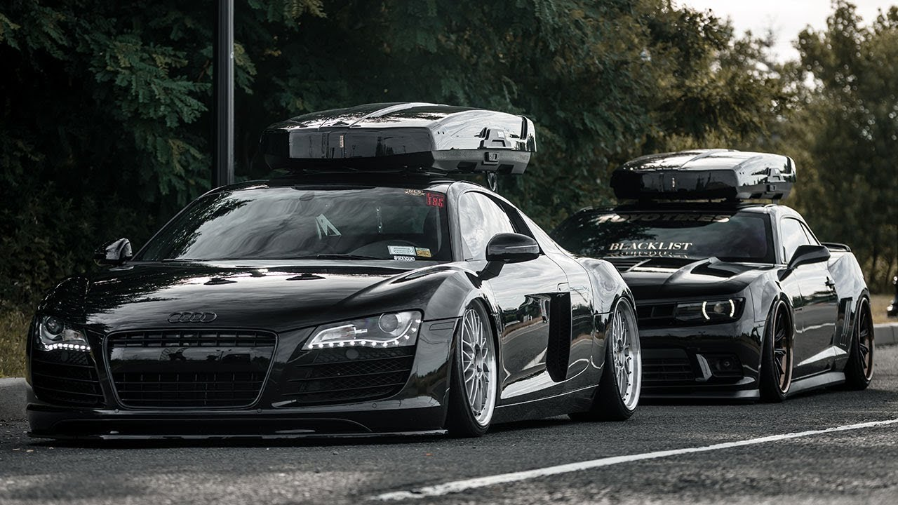 Camaro 1le Vs Audi R8 Roofbox Gang Youtube