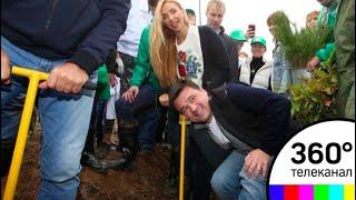 Скачать В деревне Топорково завершается акция Наш лес Посади свое дерево