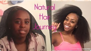 MY NATURAL HAIR JOURNEY ... (PICTURE VIDEO)