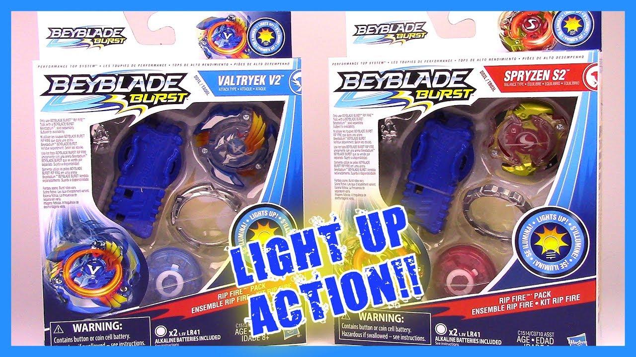 Valtryek PacksBeyblade S2 Fire Hasbro V2amp; Rip By Spryzen Burst YIf76yvbg