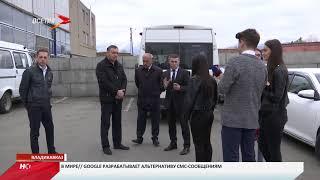 Хайдарбек Бутов проинспектировал автотранспортное предприятие АлРухс