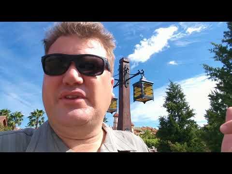 Disney Magic Kingdom The Atlanteans /Tall Blonde Nordic Channeling