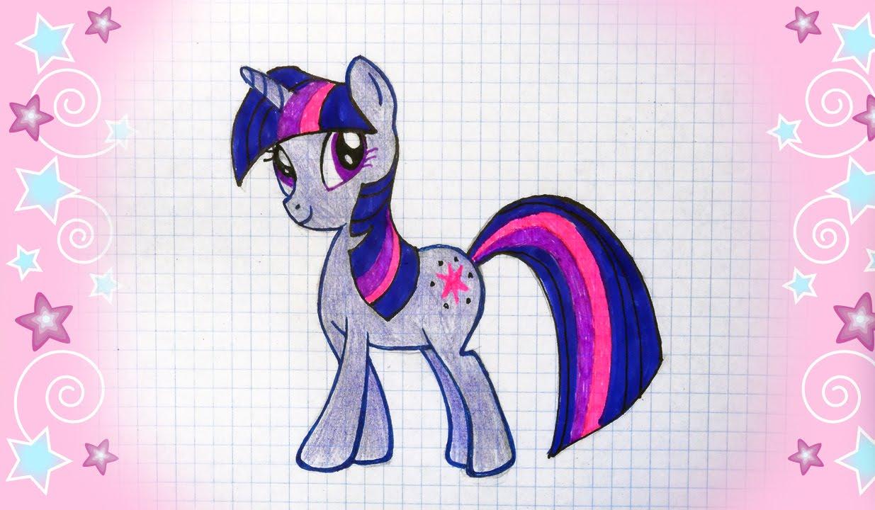 Как нарисовать пони своими руками фото 432
