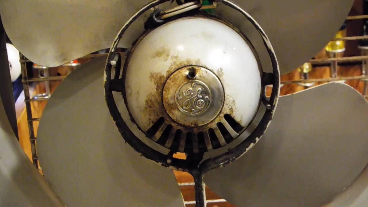 Lubricating general electric fan motors youtube for General electric fan motor
