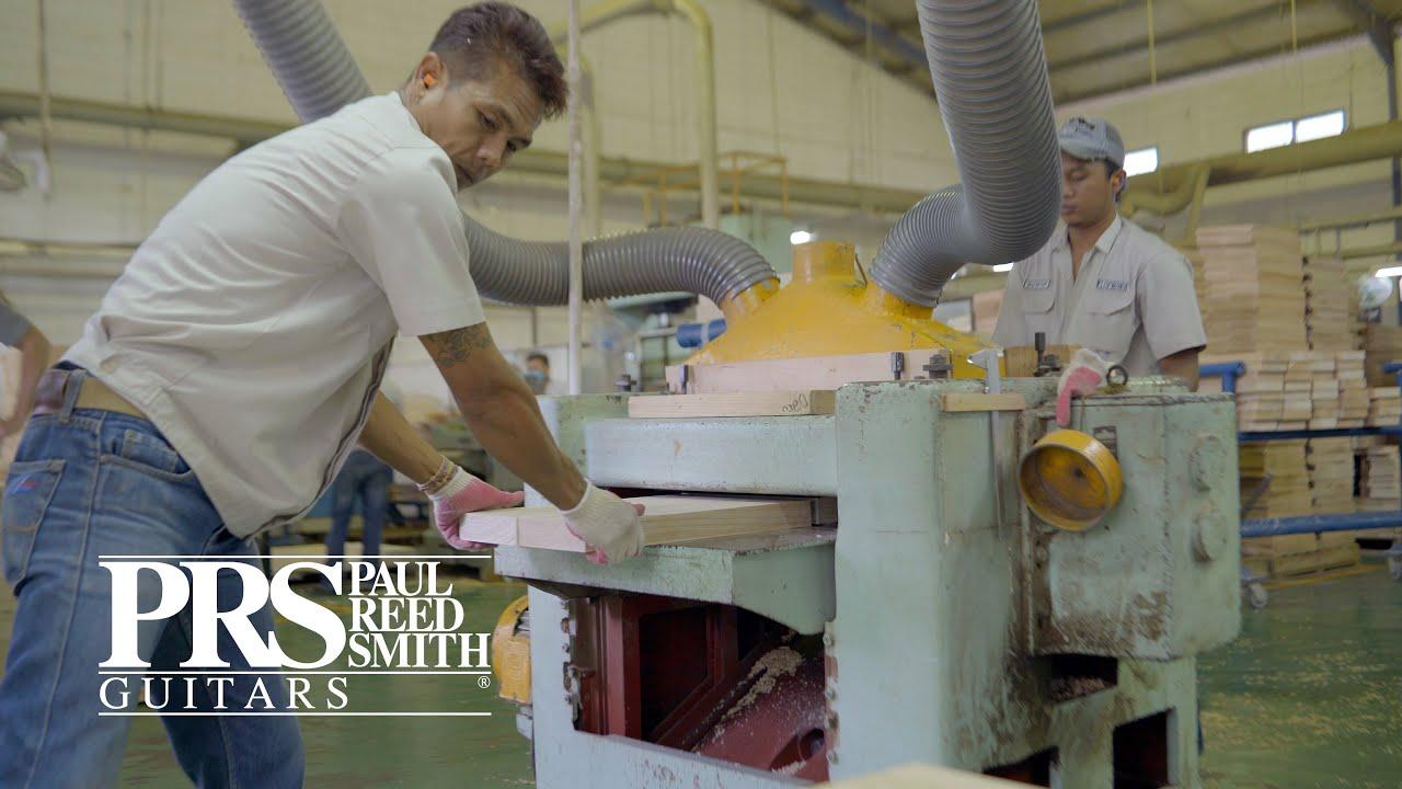 Se Factory Tour Surabaya Indonesia Prs Guitars Youtube