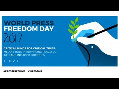 DISCUSSION: World Press Freedom Day with Amina Frense