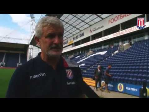 Mark Hughes Reacts To Preston Draw