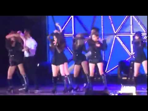 150411 SNSD Fun and Happy Concert 'Mr Mr' (FanCam)