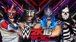 WCW Ultimo Dragon vs  Jushin Liger vs  La Parka vs  Psicosis