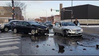 CRASH! | Bad Drivers of Chicago #35