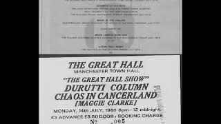The Durutti Column-Friends In Belgium (Live 7-14-1986)