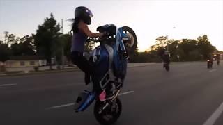 Мотоциклы и Девушки. (Пьяный дождь)