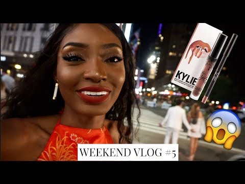 WEEKEND VLOG #5 | KYLIE COSMETICS LIPKIT FOR $5 IN NEW YORK CITY | Miss.Cameroon